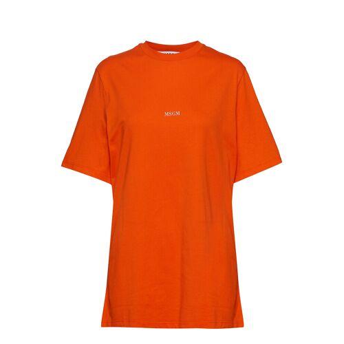 MSGM T-Shirt T-Shirt Top Orange MSGM Orange M,S,L