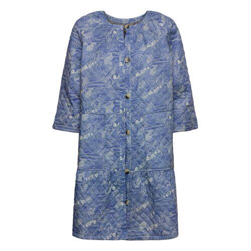 NOA NOA Light Outerwear Dünner Mantel Blau NOA NOA Blau M,L