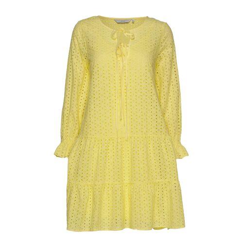 NÜMPH Nualzbet Dress Kurzes Kleid Gelb NÜMPH Gelb 38,36,34,40