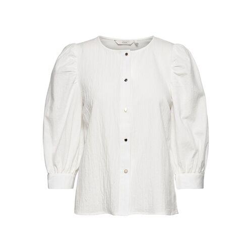 NÜMPH Nubunny Shirt Bluse Langärmlig Weiß NÜMPH Weiß 40,38,36,34
