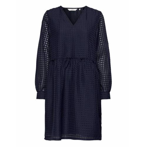 NÜMPH Nubahia Dress Kurzes Kleid Blau NÜMPH Blau 40,42,38,36,34
