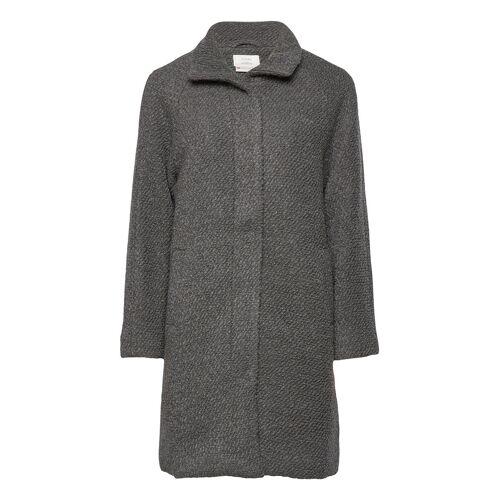 NÜMPH Nubrio Jacket Wolljacke Jacke Grau NÜMPH Grau 40,38,42
