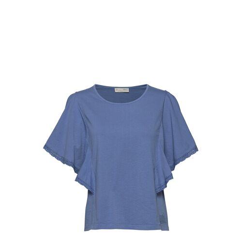 Odd Molly Flowy Top T-Shirt Top Blau ODD MOLLY Blau S,XL,XS