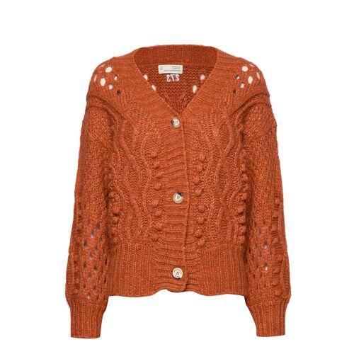 Odd Molly Bossbabe Cardigan Cardigan Strickpullover Orange ODD MOLLY Orange XL