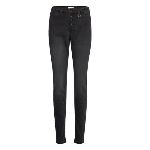 PULZ JEANS Pzmary Jeans Slim Jeans Grau PULZ JEANS Grau 26,30,31,32,34,33,35,27,25