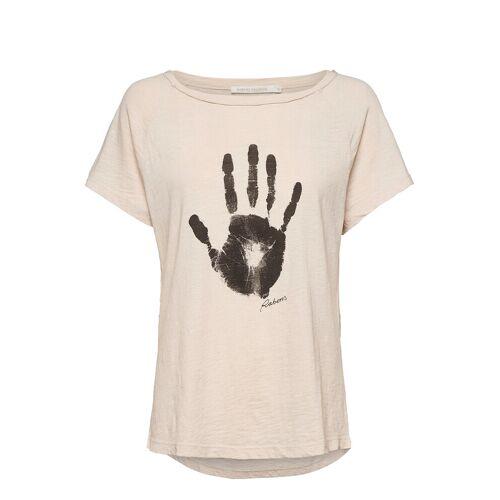 RABENS SALONER Filina T-Shirt Top Creme RABENS SAL R Creme L