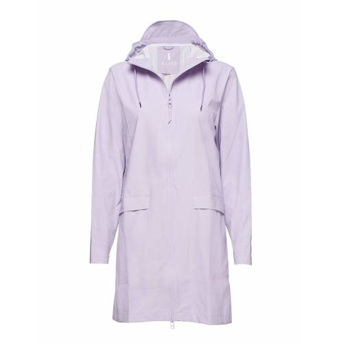 Rains W Coat Regenkleidung Lila RAINS Lila