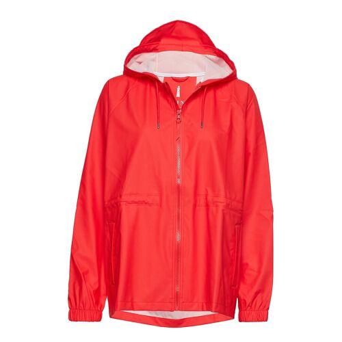 Rains W Jacket Regenkleidung Rot RAINS Rot M/L,L/XL,S/M,XS/S