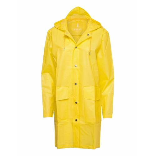 Rains Hooded Coat Regenkleidung Gelb RAINS Gelb S/M,XS/S,XXS/XS