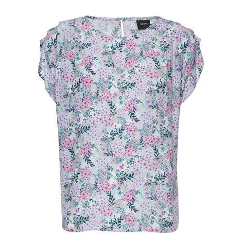 RAVN Jax Tee T-Shirt Top Bunt/gemustert RAVN Bunt/gemustert XL,L