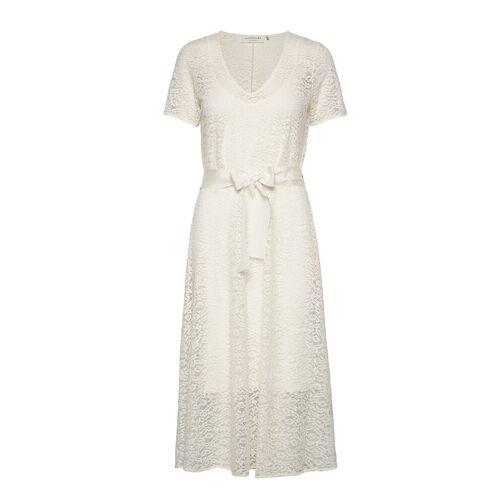 Rosemunde Dress Ss Kleid Knielang Creme ROSEMUNDE Creme 38,42,40