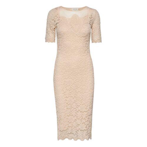 Rosemunde Dress Ss Kleid Knielang Creme ROSEMUNDE Creme M,S,XS,XL,XXL