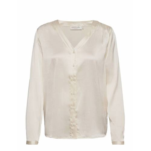 Rosemunde Shirt Ls Bluse Langärmlig Creme ROSEMUNDE Creme 38,40,36,42