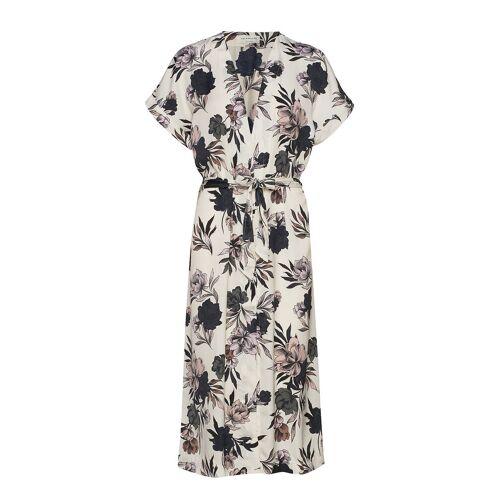 Rosemunde Dress Ss Kleid Knielang Creme ROSEMUNDE Creme 38,40,42,36,44