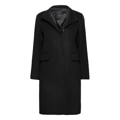 SAND Cashmere Coat W - Parker 3 Wollmantel Mantel Schwarz SAND Schwarz 42,34