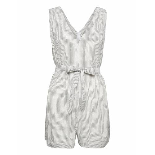 Seafolly Waves Playsuit Jumpsuit Weiß SEAFOLLY Weiß 38,34,40,32,42