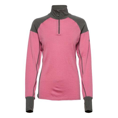 Skogstad Jardalen Merino Wool Half-Zip Base Layer Tops Pink SKOGSTAD Pink 40,38,36,42,44,48