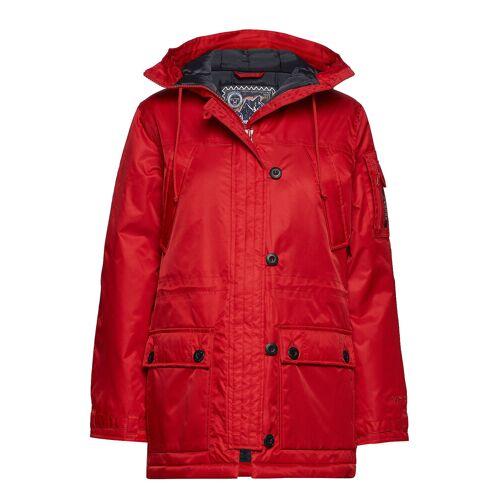 TENSON Himalaya Classic W Parka Jacke Mantel Rot TENSON Rot 38,40
