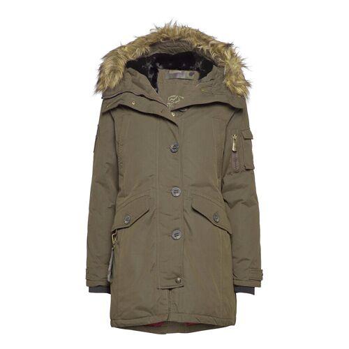 TENSON Lhasa Lady Parka Jacke Mantel Grün TENSON Grün 40