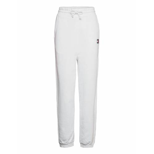 Tommy Jeans Tjw Relaxed Hrs Badge Sweatpant Sweatpants Jogginghose Weiß TOMMY JEANS Weiß R/M,R/S,R/L,R/XS,R/XL