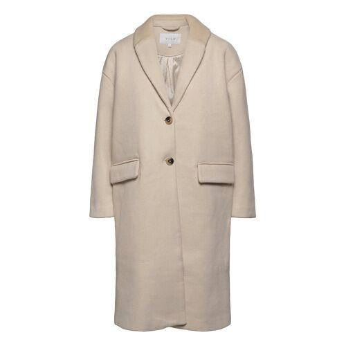 Vila Vicallee Wool Coat/Su/Des Wollmantel Mantel Grau VILA Grau 34,36,40,38,42