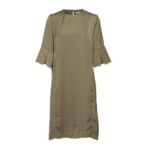 WHYRED Lilian Dress Kleid Knielang Grün WHYRED Grün 38,34,36