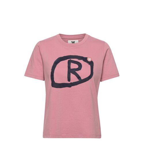 WOOD WOOD Mia T-Shirt T-Shirt Top Pink WOOD WOOD Pink M,S,XS,L