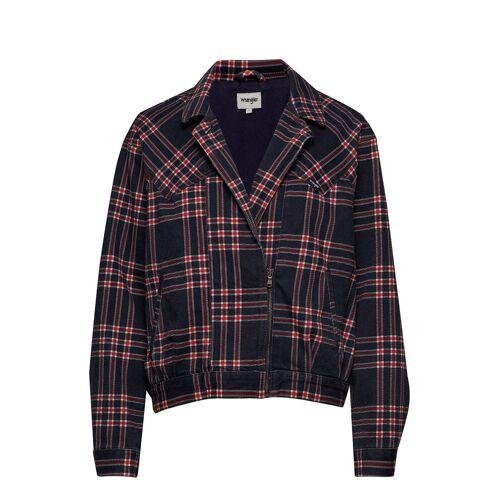 Wrangler 80´S Jacket Indigo Check Bomberjacke Schwarz WRANGLER Schwarz M,S,L,XS