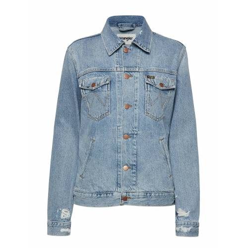 Wrangler Regular Jacket Jeansjacke Denimjacke Blau WRANGLER Blau M,L,XL
