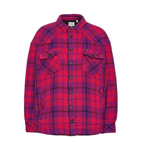 Wrangler Western Shirt Jacket Overshirts Lila WRANGLER Lila S,M,L,XS