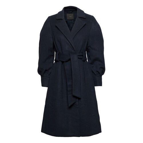 Yasbecca Wool Coat S. Wollmantel Mantel Blau YAS Blau M,S,L,XL
