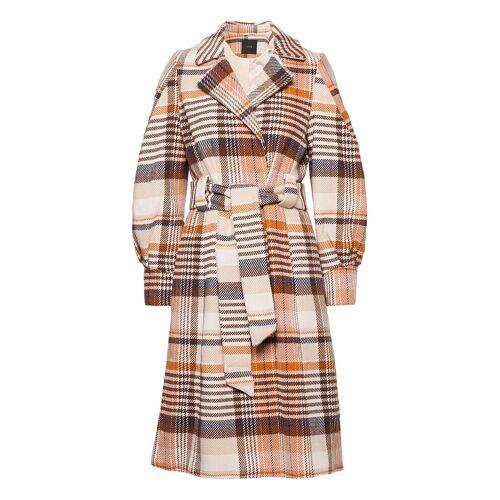 Yasbicca Wool Coat Wollmantel Mantel Lila YAS Lila M,L