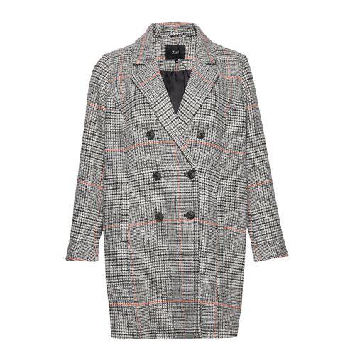Zizzi Mzola, L/S, Coat Wollmantel Mantel Grau ZIZZI Grau 50-52,46-48,54-56