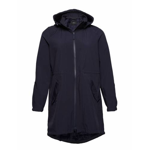 Zizzi Softshell Jacket Waterproof Soft And Warm Parka Jacke Mantel Blau ZIZZI Blau 50-52,46-48,54-56,42-44