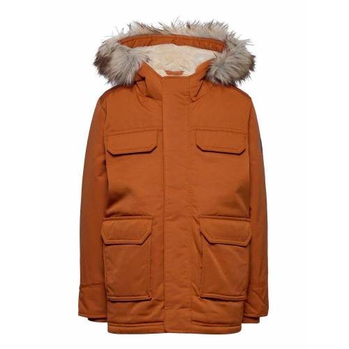 Abercrombie & Fitch Kids Boys Outerwear Parka Jacke Gelb ABERCROMBIE & FITCH Gelb 142-150,150-157,157-163,135-142
