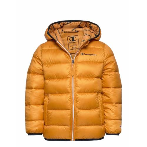 Champion Hooded Jacket Gefütterte Jacke Gelb CHAMPION Gelb 152,140,104
