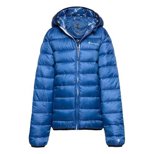Champion Hooded Jacket Gefütterte Jacke Blau CHAMPION Blau 152,116,104