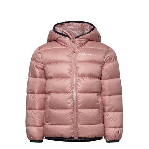 Champion Hooded Jacket Gefütterte Jacke Pink CHAMPION Pink 152,128,140,164,176,116,104