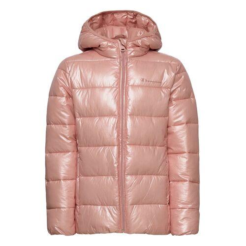 Champion Hooded Jacket Gefütterte Jacke Pink CHAMPION Pink 152,140,164,128,116,176,104