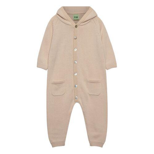 FUB Baby Suit Outerwear Wool Outerwear Beige FUB Beige 74-80,56-62,86-92,62-68