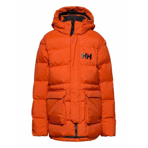 Helly Hansen Jr Urban Puffy Parka Parka Jacke Orange HELLY HANSEN Orange 152,164