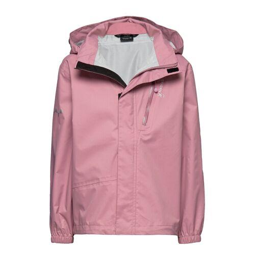 ISBJÖRN OF SWEDEN Rain Jacket Kids Outerwear Rainwear Jackets Pink ISBJÖRN OF SWEDEN Pink 86-92,98-104