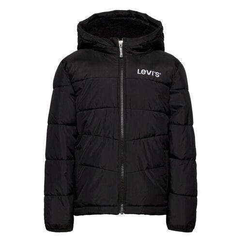 Levi's Lvb Sherpa Hood Lining Puffer Gefütterte Jacke Schwarz LEVI'S Schwarz 164,152,128,140,104,116,110