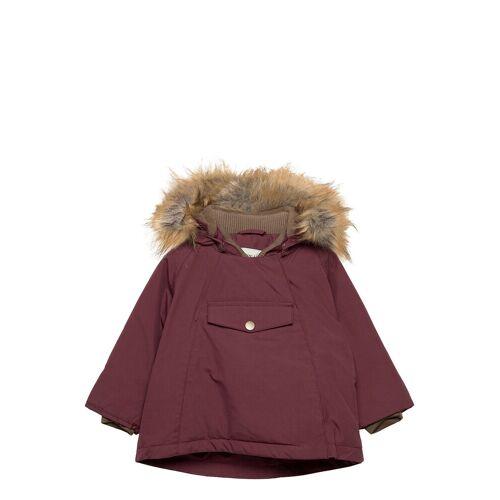 MINI A TURE Wang Faux Fur Jacket, M Parka Jacke Lila MINI A TURE Lila 92,86,74