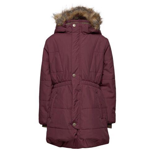 MINI A TURE Witta Faux Fur Jacket, K Parka Jacke Lila MINI A TURE Lila 122,152,104,92,98