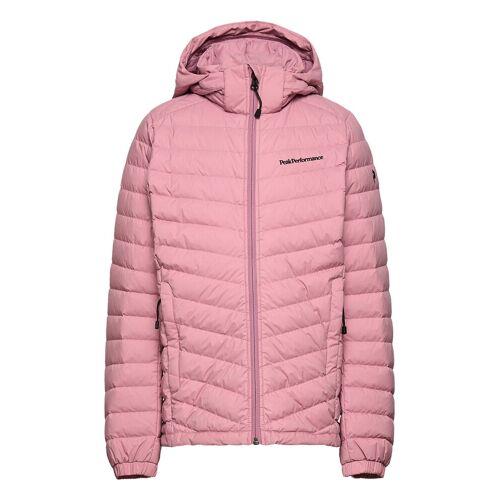 Peak Performance Jr Frost Down Hood Jacket Frosty Rose Gefütterte Jacke Pink PEAK PERFORMANCE Pink 160,170,150,140,130