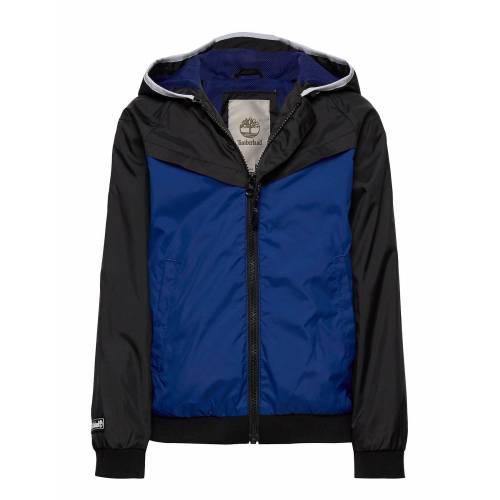 Timberland Hooded Windbreaker Outerwear Jackets & Coats Windbreaker Blau TIMBERLAND Blau 140,110,128,116