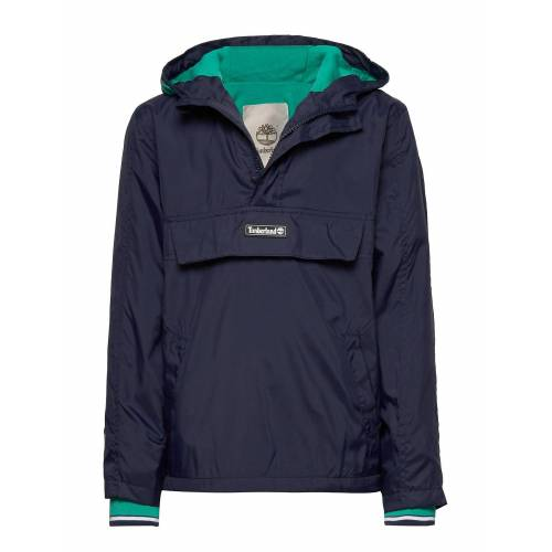 Timberland Hooded Windbreaker Outerwear Jackets & Coats Windbreaker Blau TIMBERLAND Blau 164,140,116,128,110