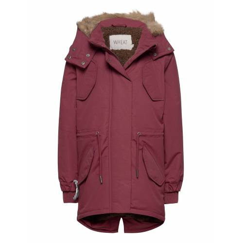WHEAT Parka Sella Tech Parka Jacke Rot WHEAT Rot 110,128,104,116,98
