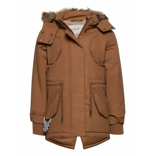 WHEAT Parka Sella Tech Parka Jacke Braun WHEAT Braun 128,122,116,104,98,110
